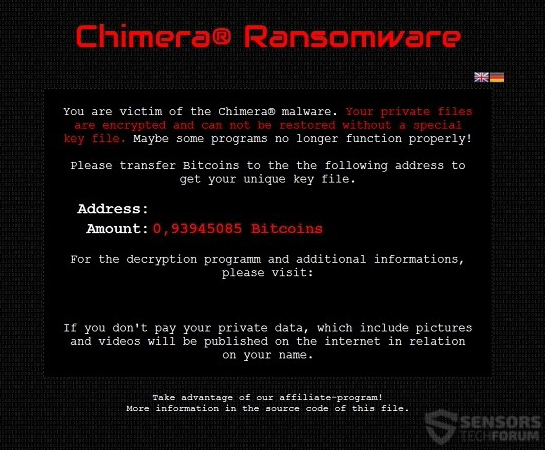 chimera-ransomware-sensorstechforum