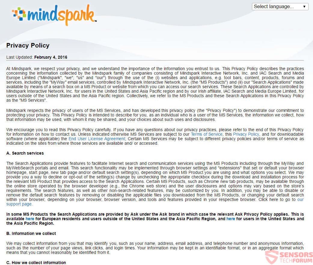 stf-cathomepage-com-cat-home-page-myway-mindspark-privacy-policy