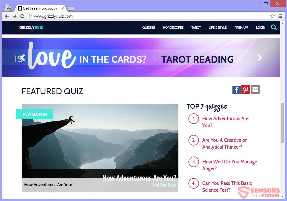 stf-grizzlyquiz-com-grizzly-quiz-adware-ads-main-site-page