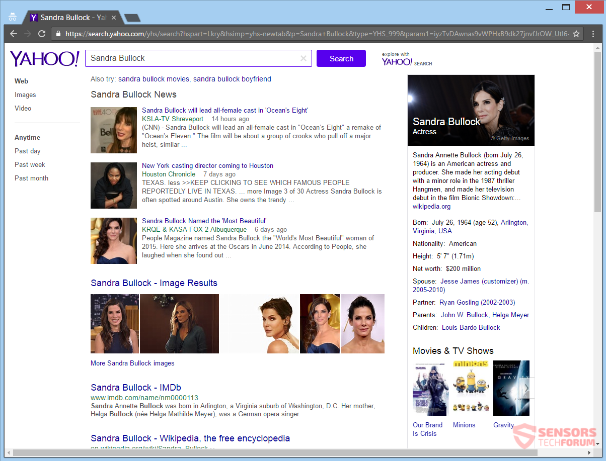 stf-musicdiscoverytab-com-music-discovery-tab-browser-hijacker-redirect-sandra-bullock-search-results