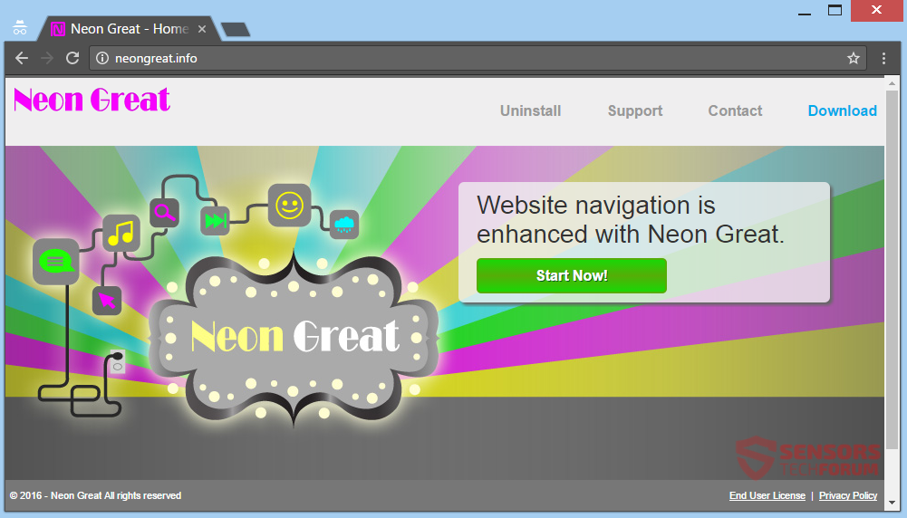 stf-neongreat-info-neon-great-ads-adware-main-site-page