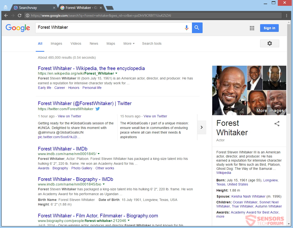 stf-searchvvay-com-search-vvay-browser-hijacker-redirect-forest-whitaker-google-search-results