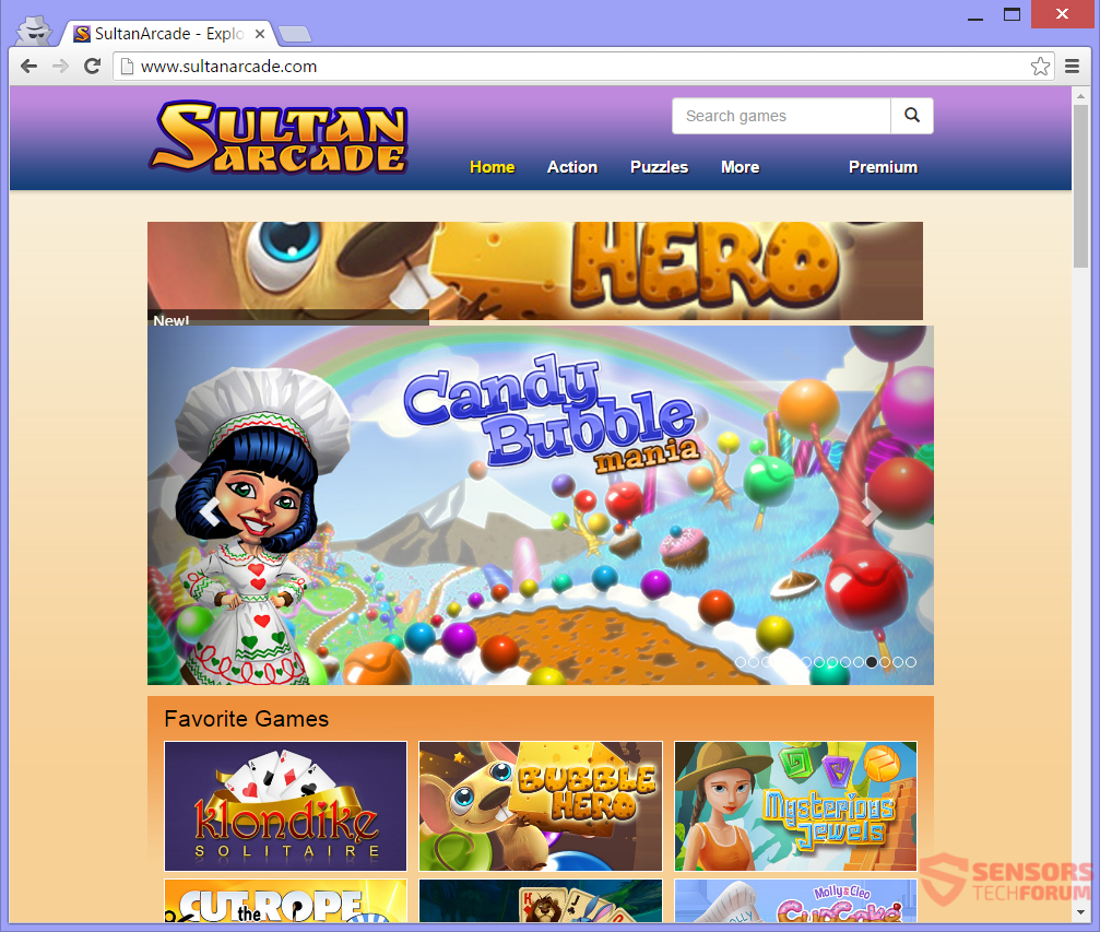 stf-sultanarcade-com-sultan-arcade-adware-ads-main-website-page