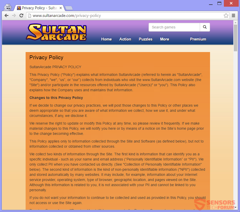 stf-sultanarcade-com-sultan-arcade-adware-ads-privacy-policy
