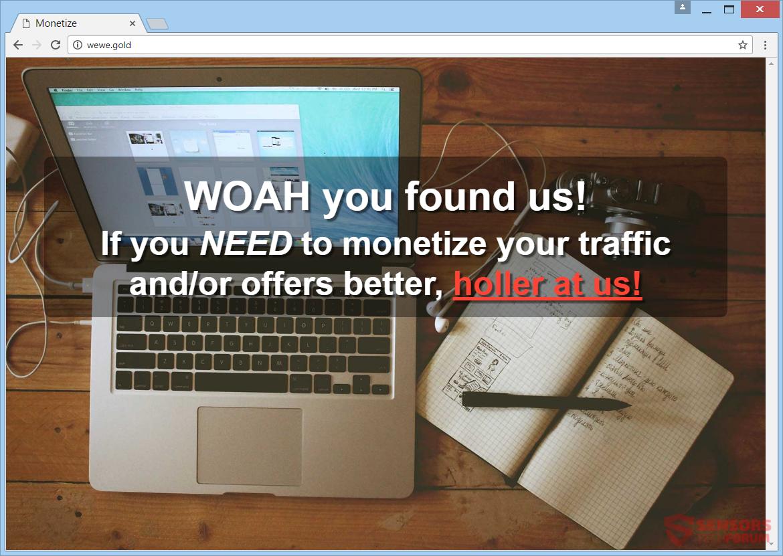 stf-wewe-gold-adware-monetization-ads-main-web-page