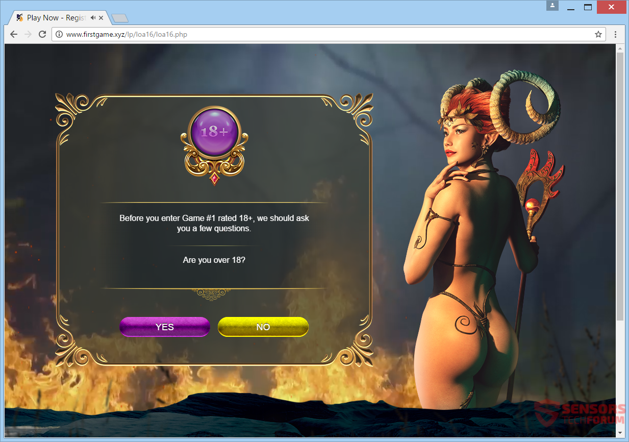 stf-www-firstgame-xyz-first-game-adware-pop-up-nude-devil-woman-full-page-ad