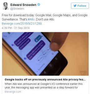 google-allo-snowden-twitter-sensorstechforum