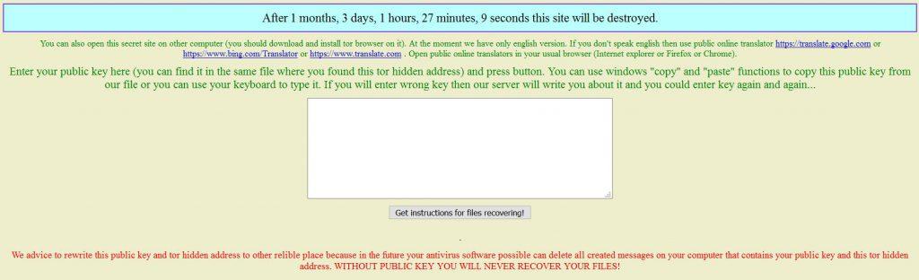 tor-page-ransomware-n1n1n1-sensorstechforum