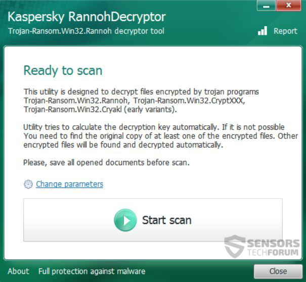 2-start-scan-rannoh-marsjoke-decryptor-sensorstechforum