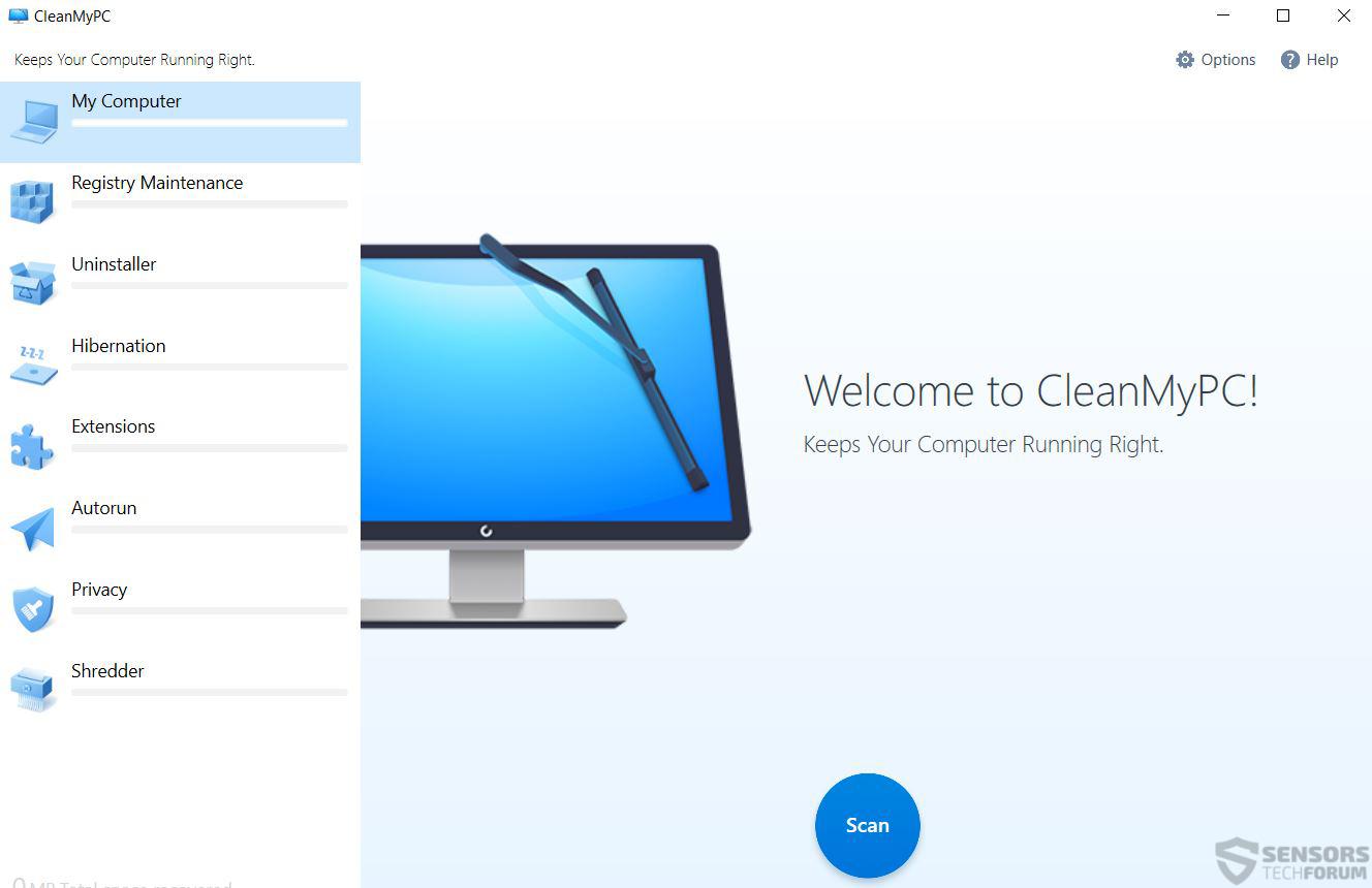 Cleanmypc registry cleaner