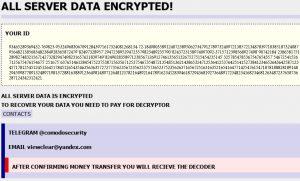 globe-ransomware-id-sensorstechforum-ransom-page