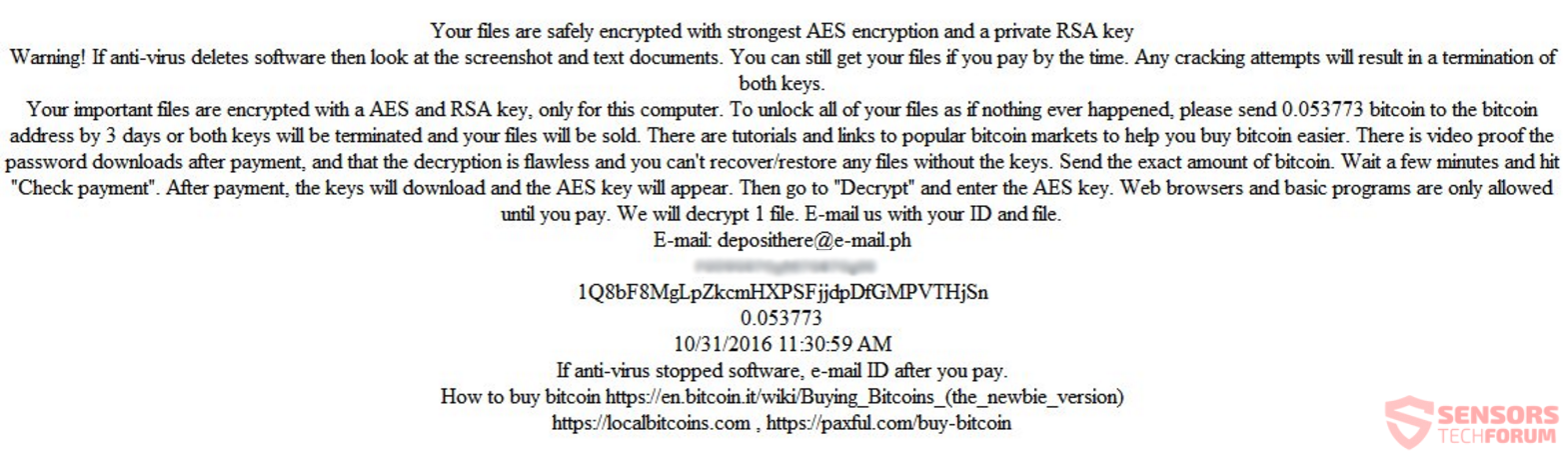 stf-encryptile-ransomware-deposithere-e-mail-ph-ransom-note