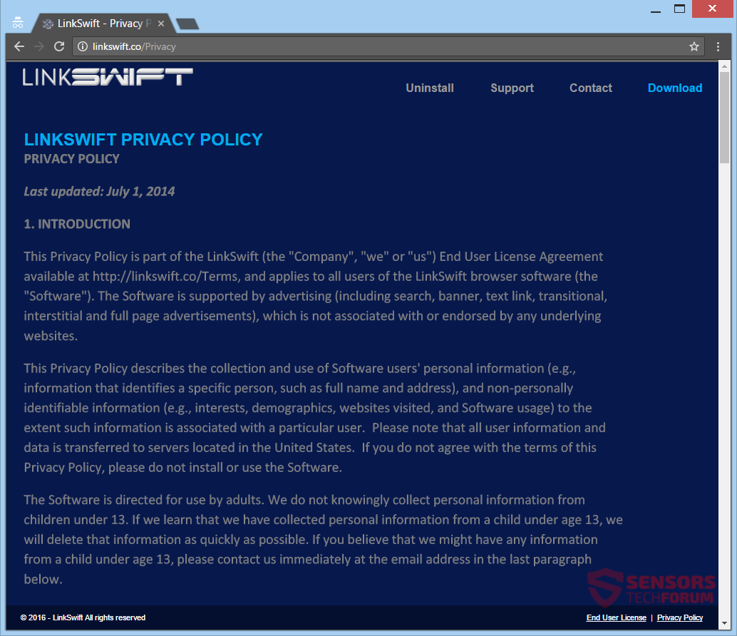 stf-linkswift-co-link-swift-adware-ads-privacy-policy