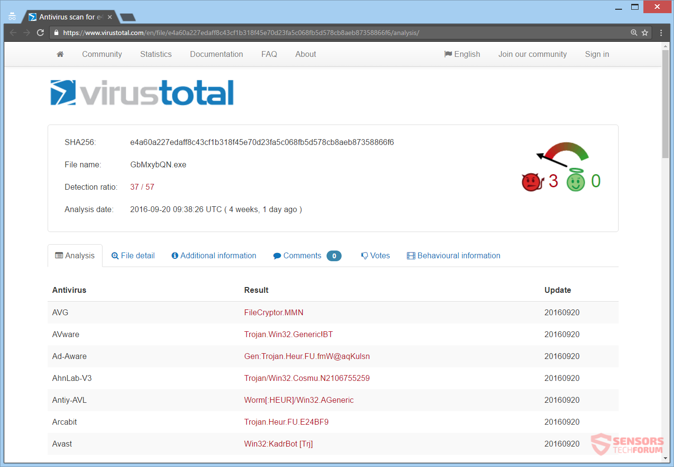 stf-rotor-ransomware-cocoslim98-gmail-com-virus-total-analysis-trojan-ransom-win32-rotor