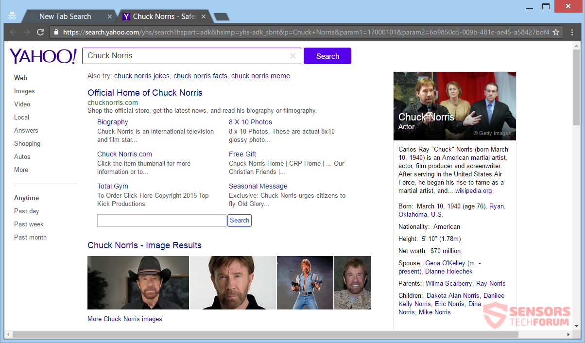 stf-search-searchrs-com-rs-saferbrowser-safer-browser-hijacker-redirect-recipe-star-chuck-norris-search-results