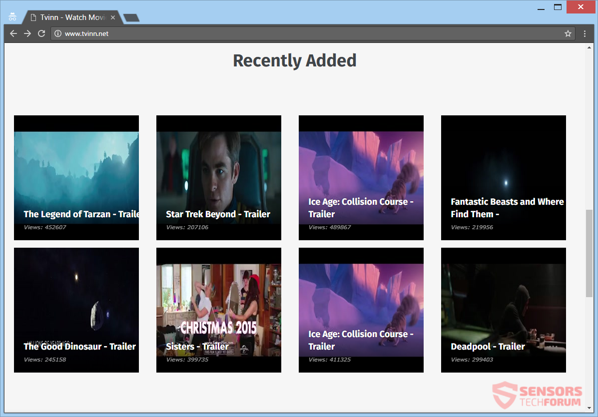 stf-tvinn-net-tv-inn-video-trailers-ads-adware-main-site-page