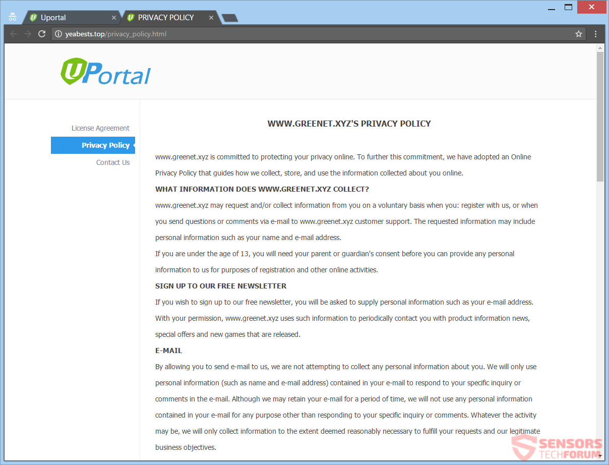 stf-yeabests-top-yeabests-uPortal-uPortal-browser-kaper-redirect-esoffers-network-privacy-beleid