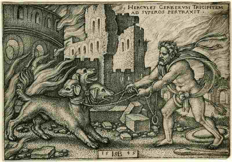 hercules-Capturing-Cerberus-Mythos