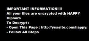 Ransomware-happy-Schließfach-sensorstechforum-Lösegeld-note-com