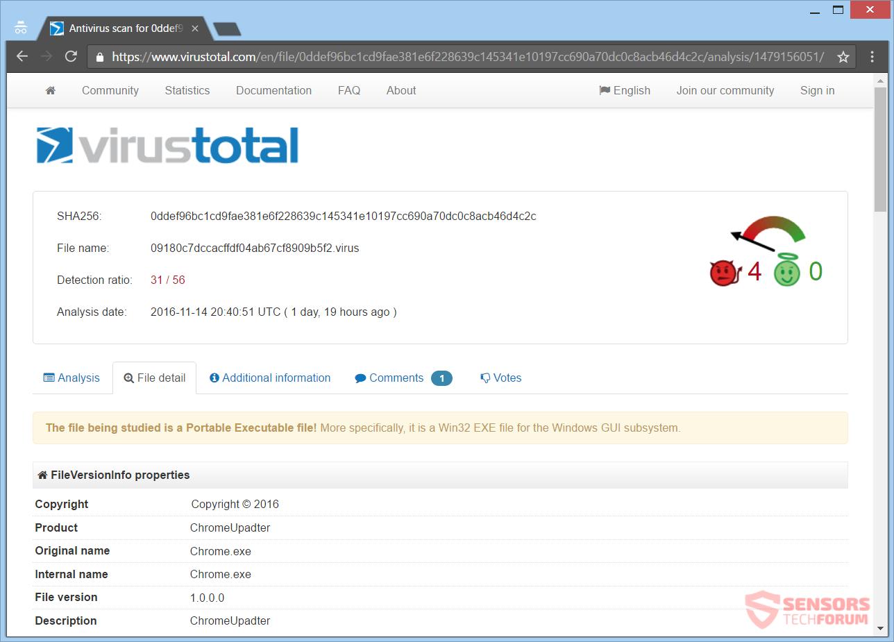 stf-angela-merkel-ransomware-virus-total-detections-chrome-updater-exe