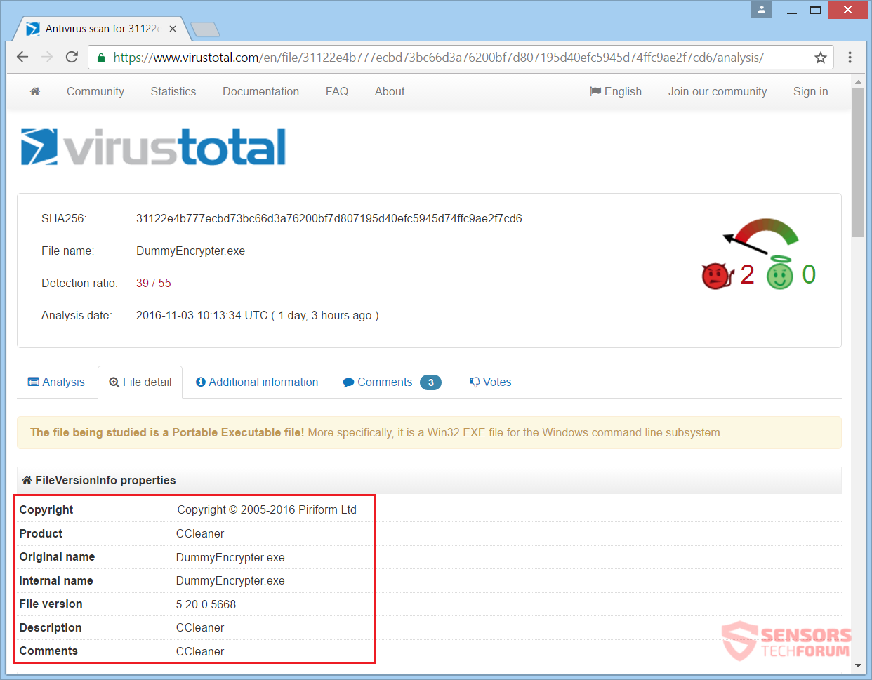 stf-dummy-encrypter-ransomware-virus-ccleaner-signatures-virus-total-detections