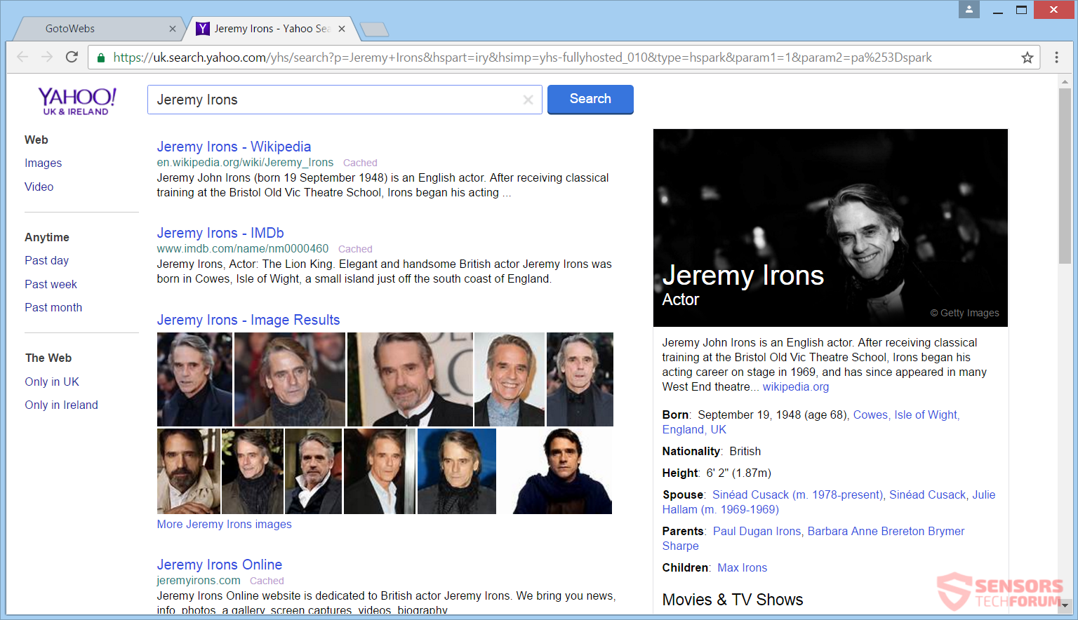 stf-gotowebs-com-browser-hijacker-go-to-webs-redirect-yahoo-search-results-jeremy-irons-uk-ireland