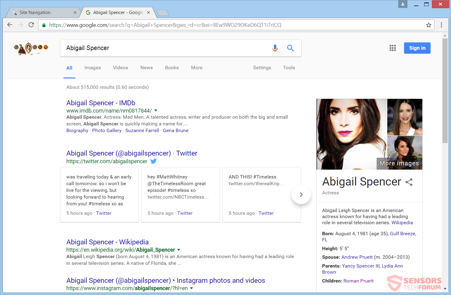 STF-tgmgo-com-search-navegador-secuestrador-redirect-Abigail Spencer-search-results
