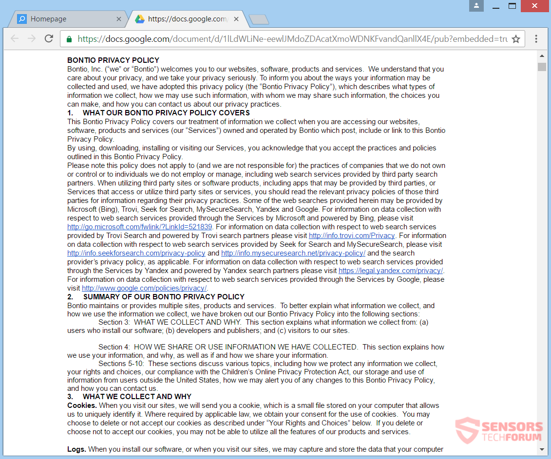 stf-web-start-page-com-browser-hijacker-redirect-privacy-policy