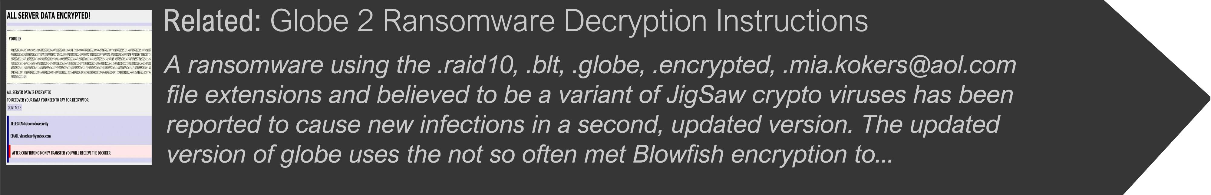 globe-2-0-ranomware-decryption-instructions-sensorstechforum