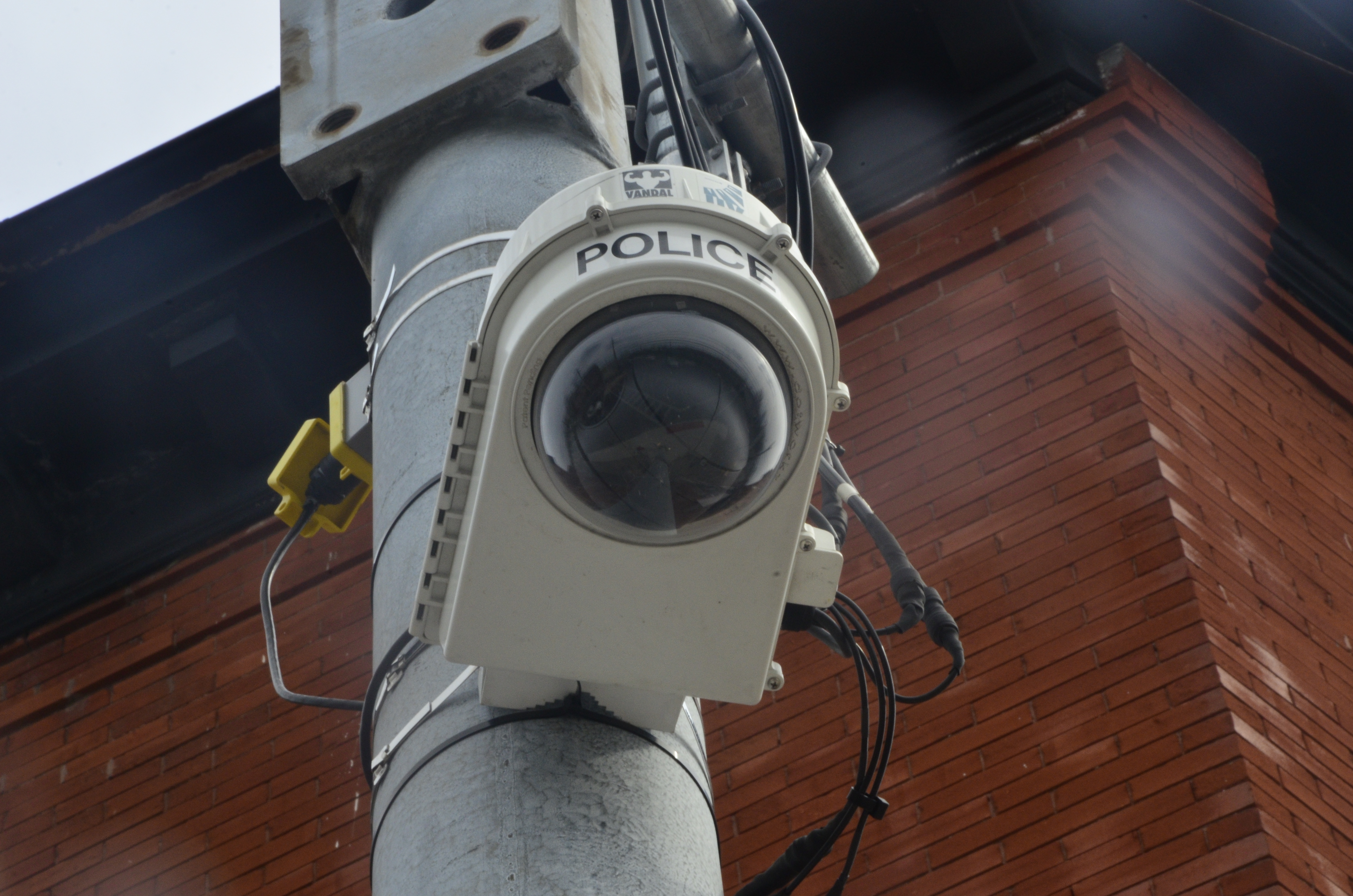 surveillance cameras from the 70