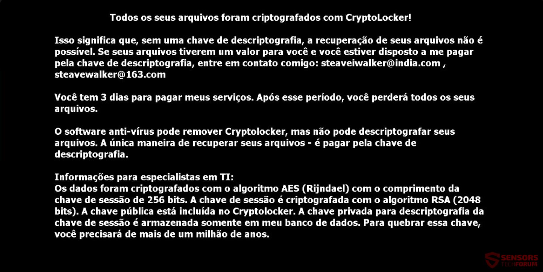 Eliminar el virus de Crypton y restaurar los archivos steaveiwalker ...