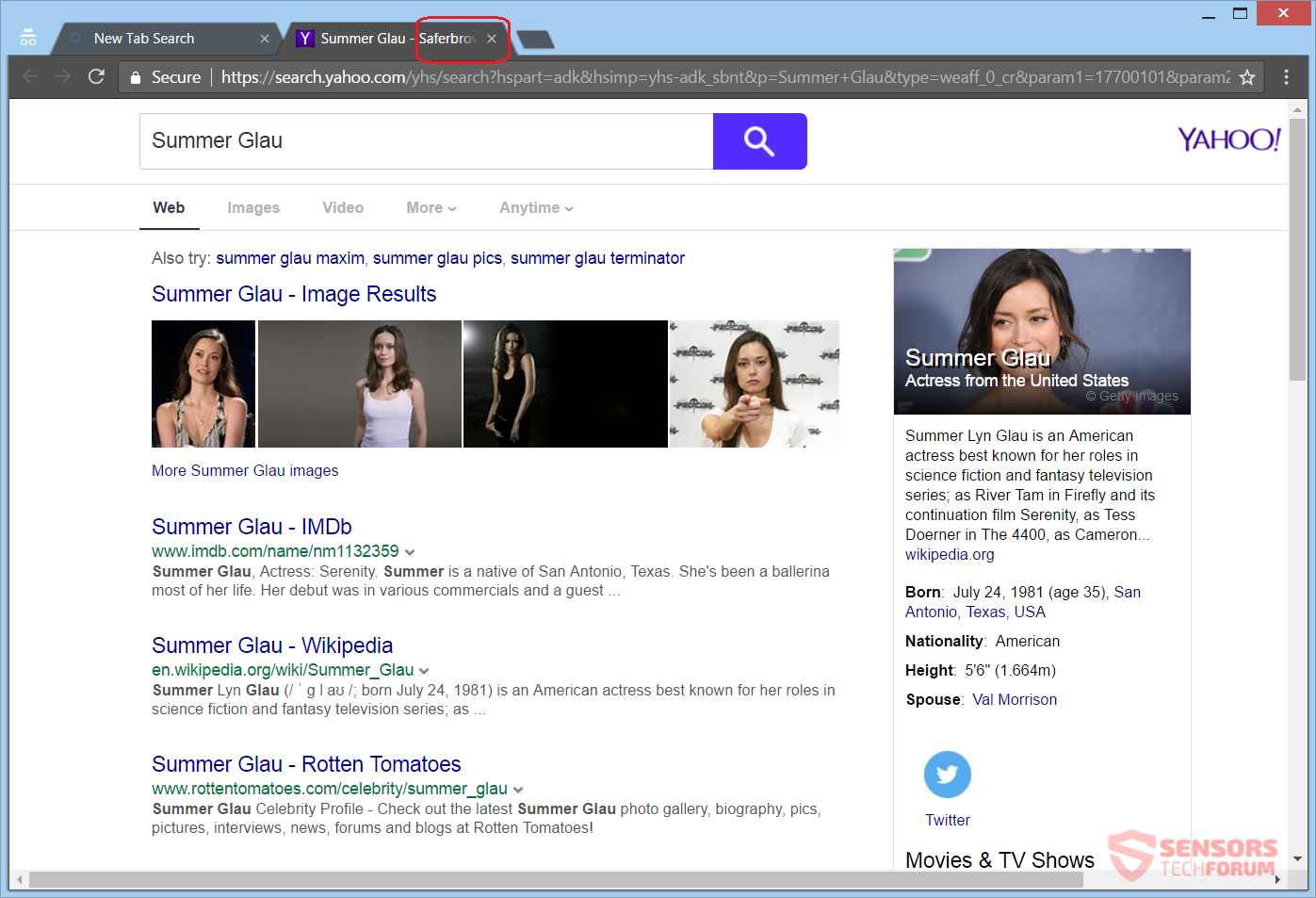 Web browser redirects to Bing search engine? - Microsoft ...