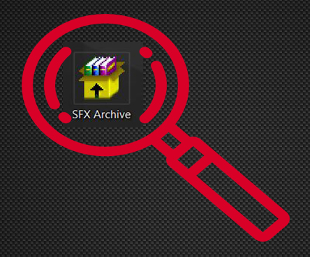 How to Check SFX Self-Extracting  exe Archives Online - How to
