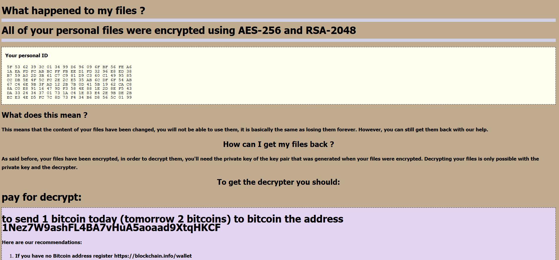 stn File Virus Restore files (Satan 2 Ransomware)