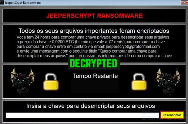 Decrypt  jeepers Files For Free (JeepersCrypt) - How to