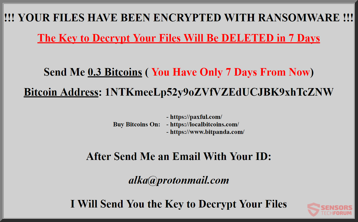 .Ransom File Virus ? Remove and Restore Your Files