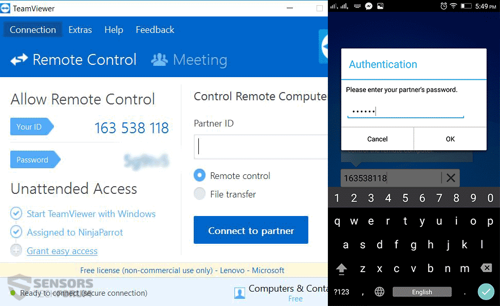 How to Use Your PC from Your Phone (TeamViewer App) - How to