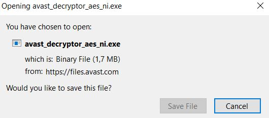 AES-NI Virus - Decrypt Files for Free (Update May 2017