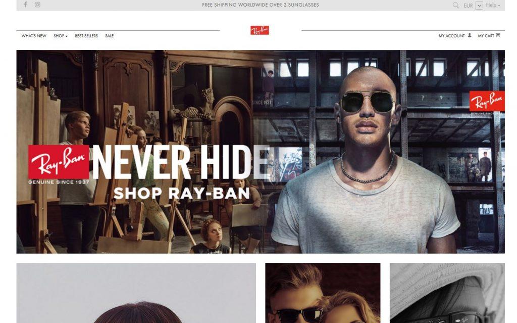 ray ban facebook actie