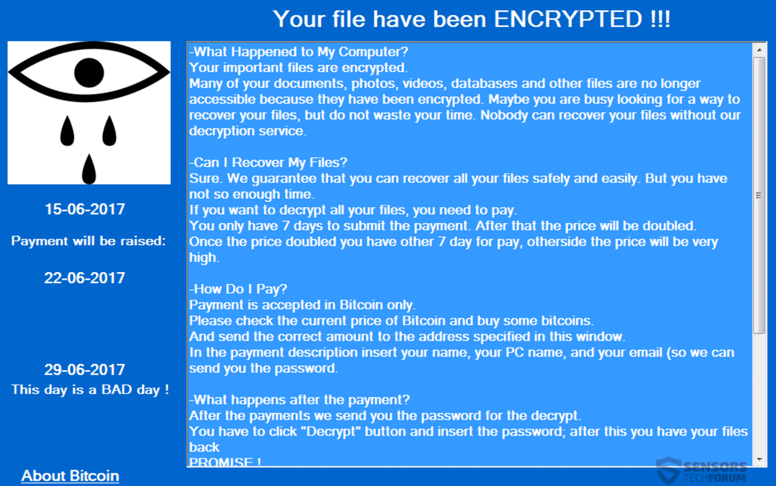 Cryforme Ransomware Remove It And Restore M Files