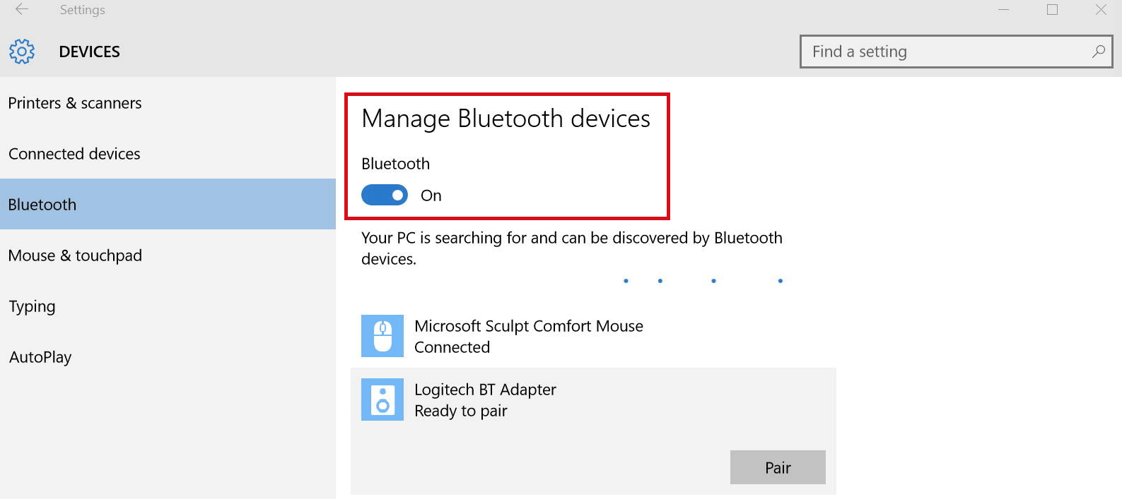 Secure your windows 10 enable dynamic lock now turn on bluetooth on your phone and you will have the prerequisite ready to begin pairing the devices ccuart Images