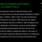 AVPASS Android Hacking Tool Presentation Image