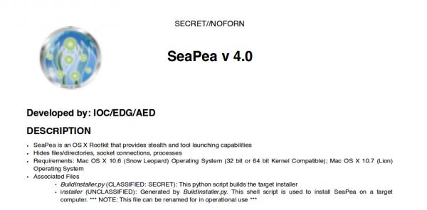 SeaPea Mac OS X Rootkit