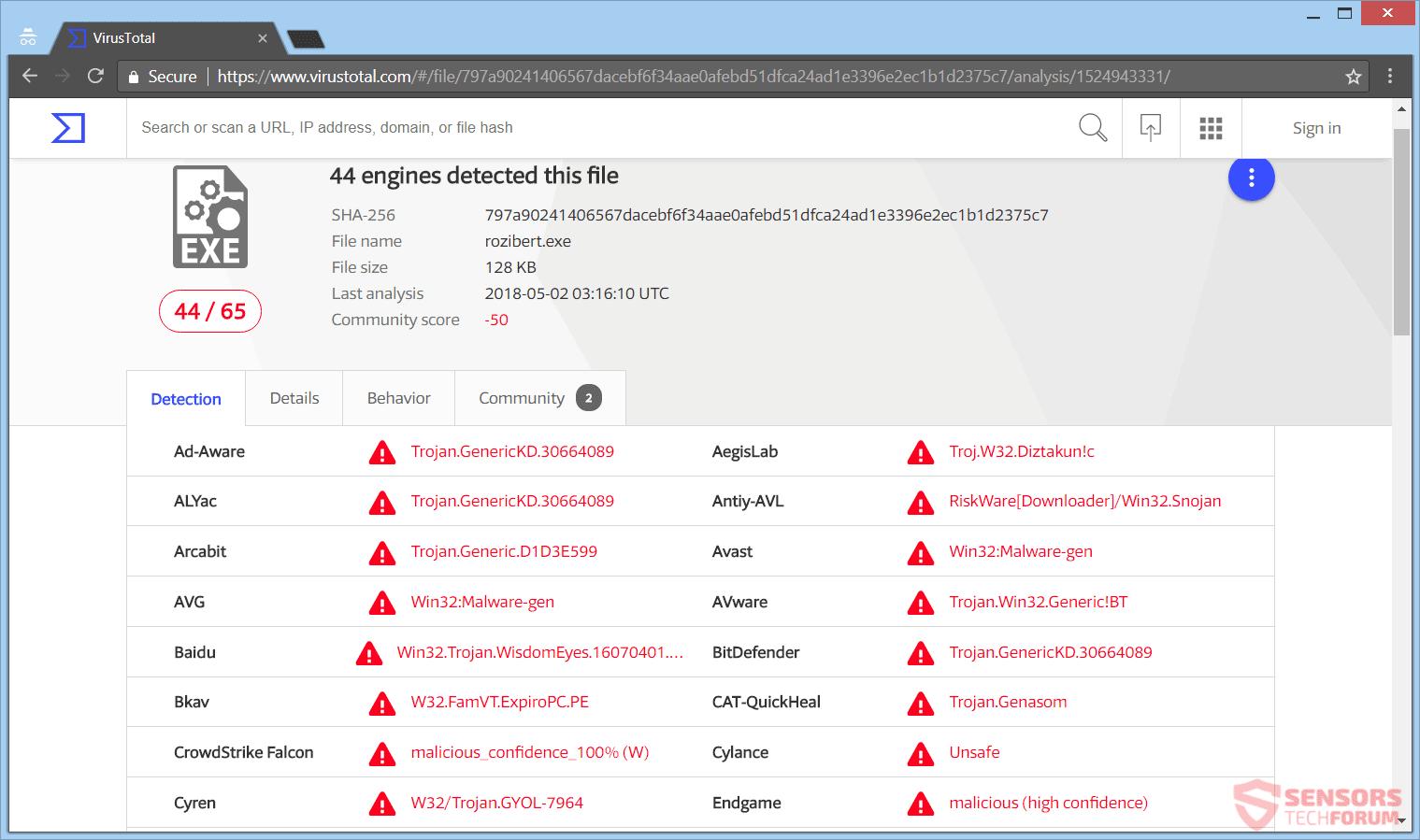 La eliminación ransomware apagón - Restaurar archivos