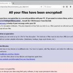 .astra file virus globeimposter ransomware ransom note here_your_files html sensorstechforum