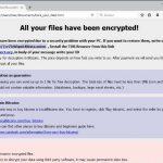 .astra file virus globeimposter ransomware ransom note here_your_files html sensorstechforum