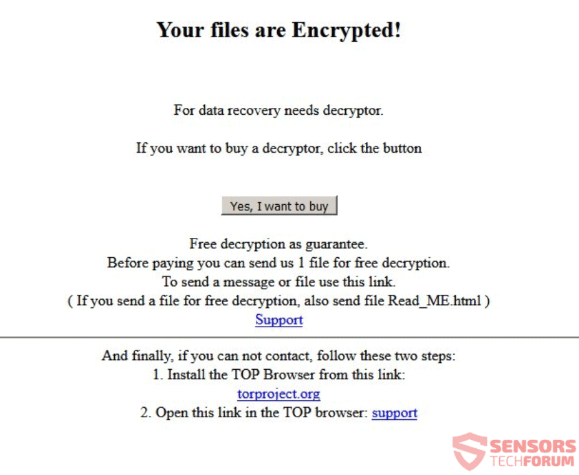 A1Lock Ransomware Removal – Restore   txt Files