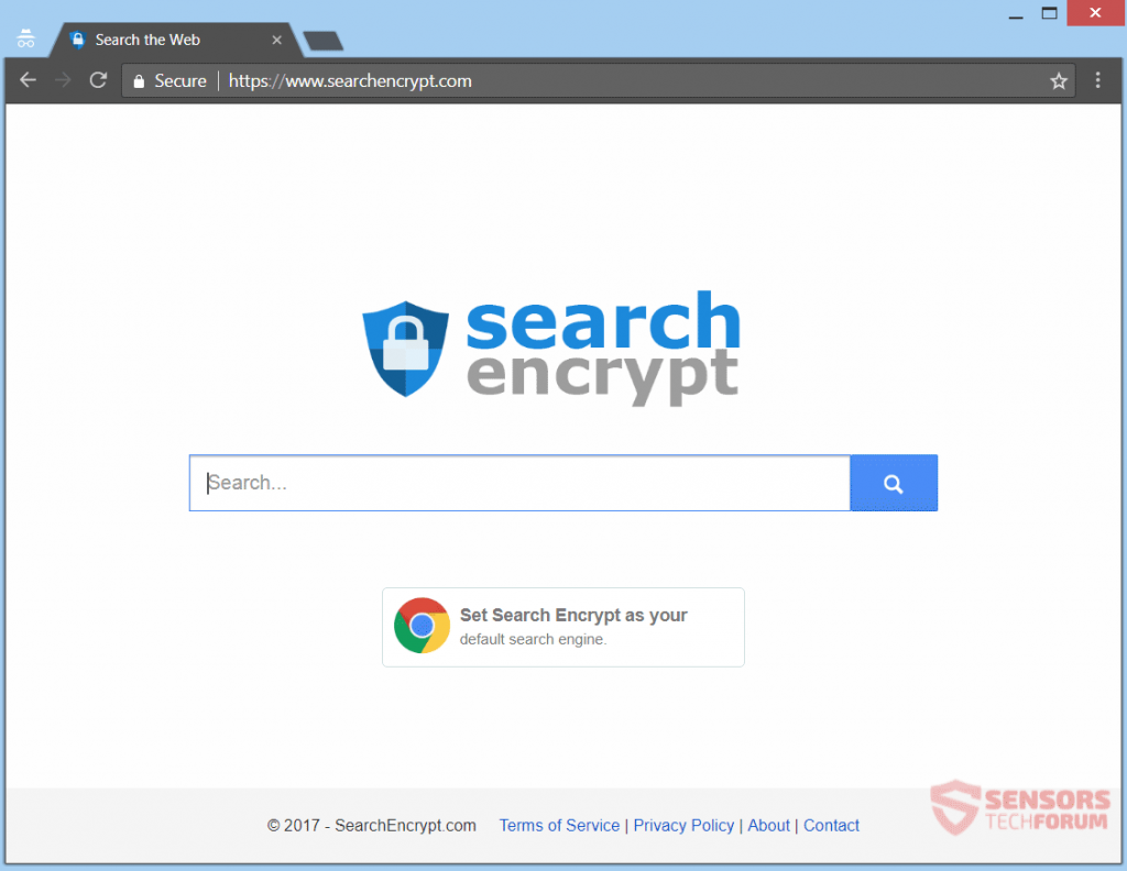 stf-search-encrypt-Browser-Hijacker-Redirect-main-Seite