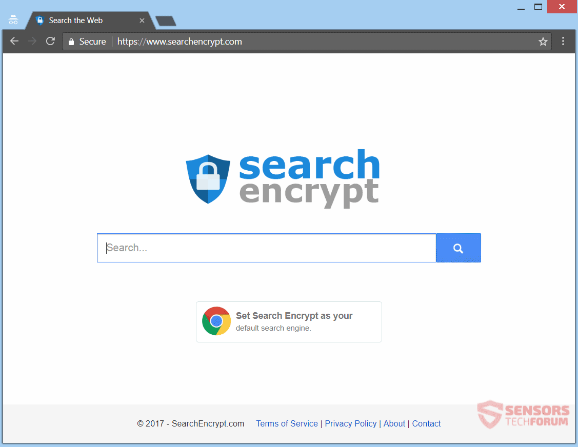 stf-searchencrypt-com-Browser-Hijacker-Redirect-main-Seite