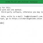 HOW_TO_GET_MY_FILES txt .gocr virus dcry ransomware sensorstechforum